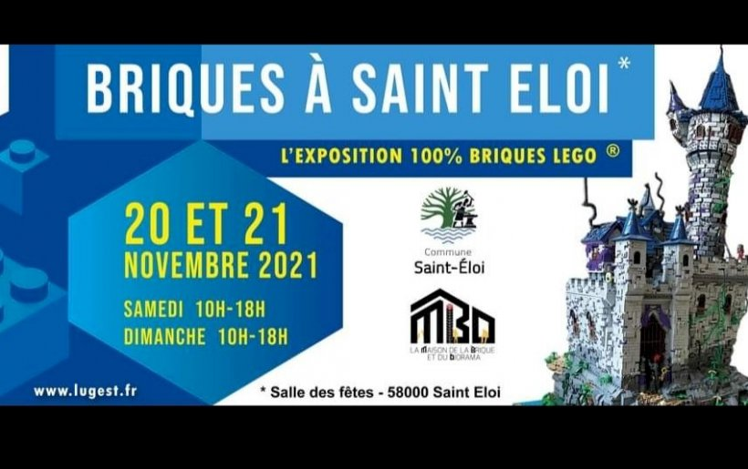 GRANDE EXPO LEGO LES 20 ET 21 NOVEMBRE 2021
